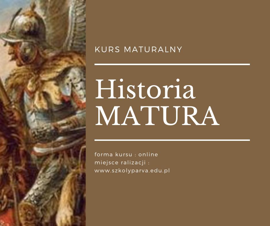 Historia MATURA