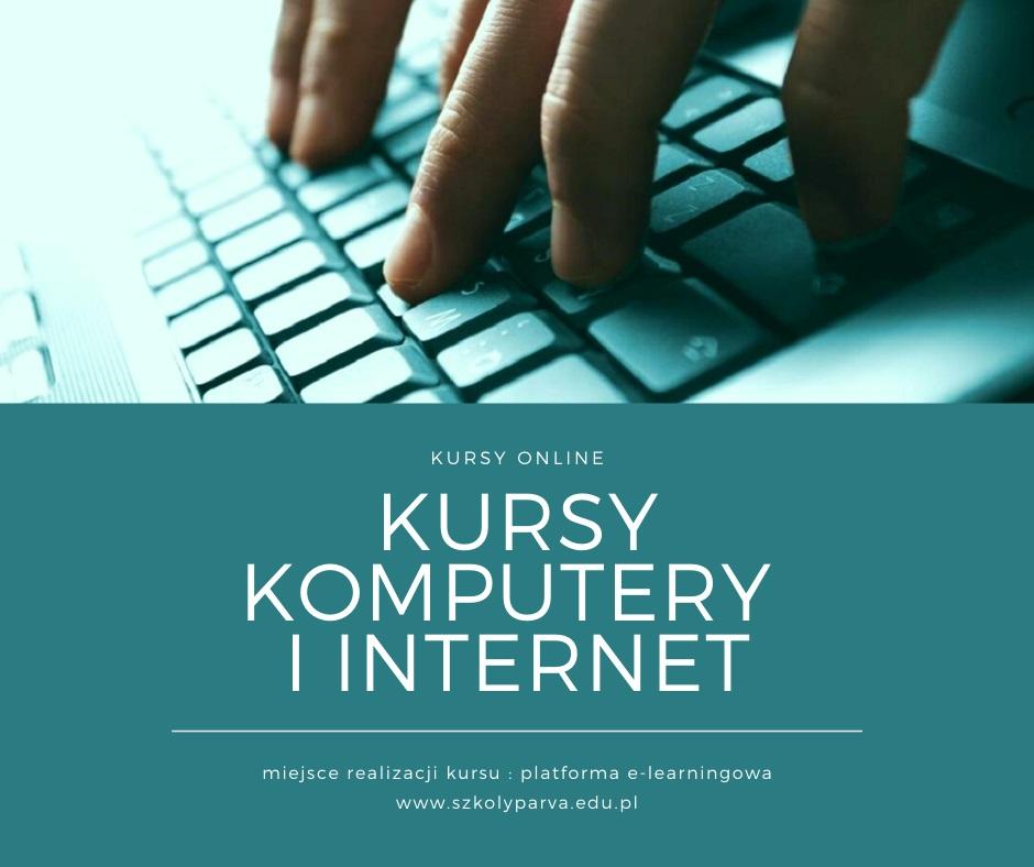 Kursy KOMPUTERY I INTERNET