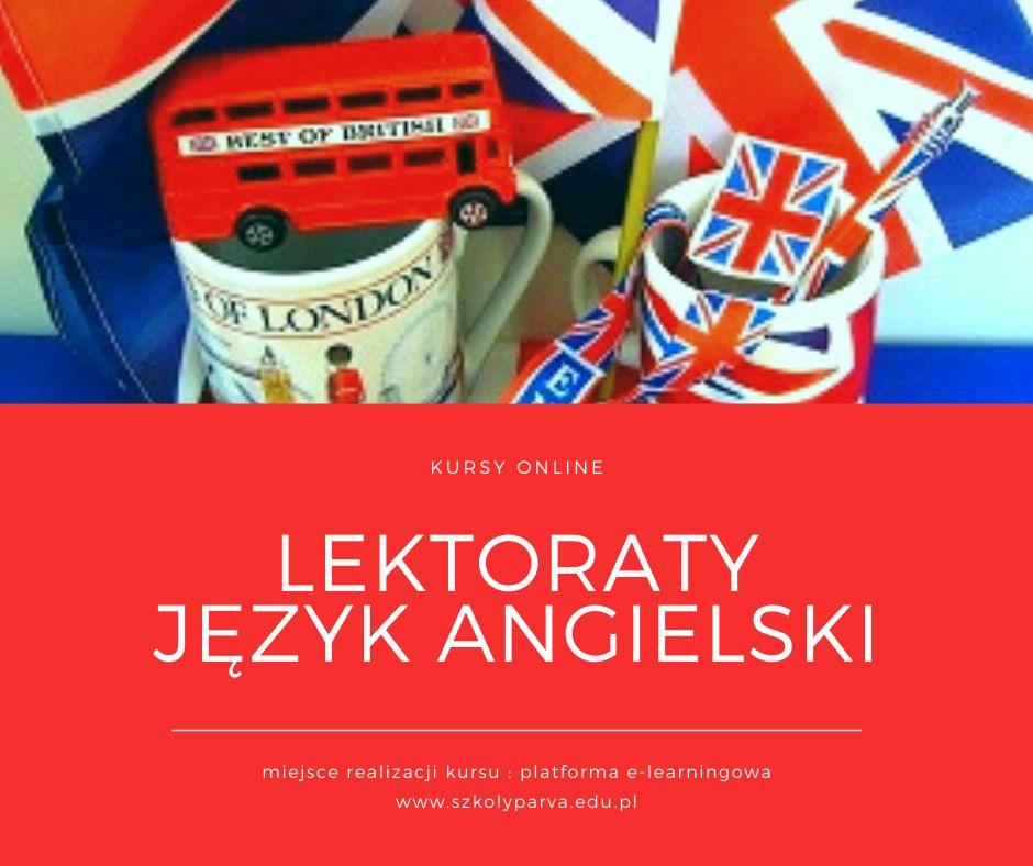 Kursy LEKTORATY Język angielski