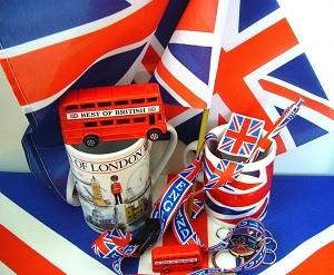 angielski flagi