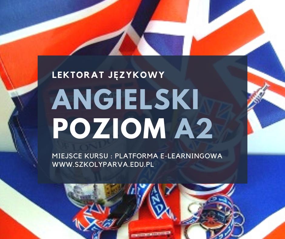 LEKTORAT jezyk angielski - poziom A2