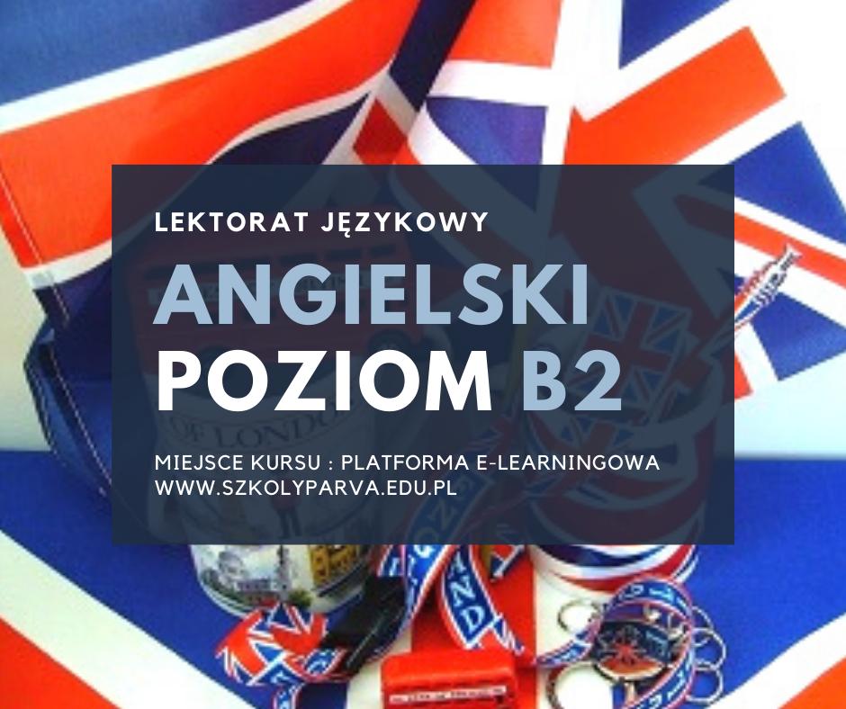 LEKTORAT język angielski - poziom B2