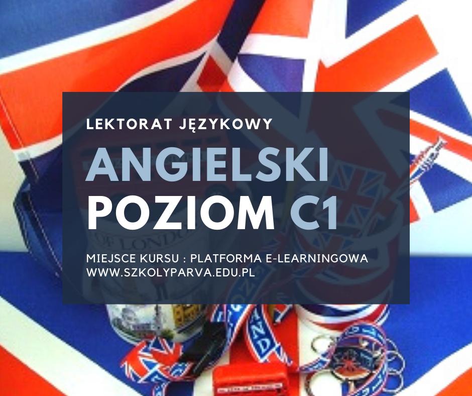 LEKTORAT język angielski - poziom C1
