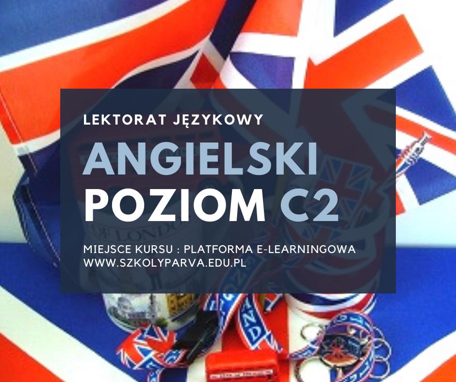 LEKTORAT jezyk angielski - poziom C2
