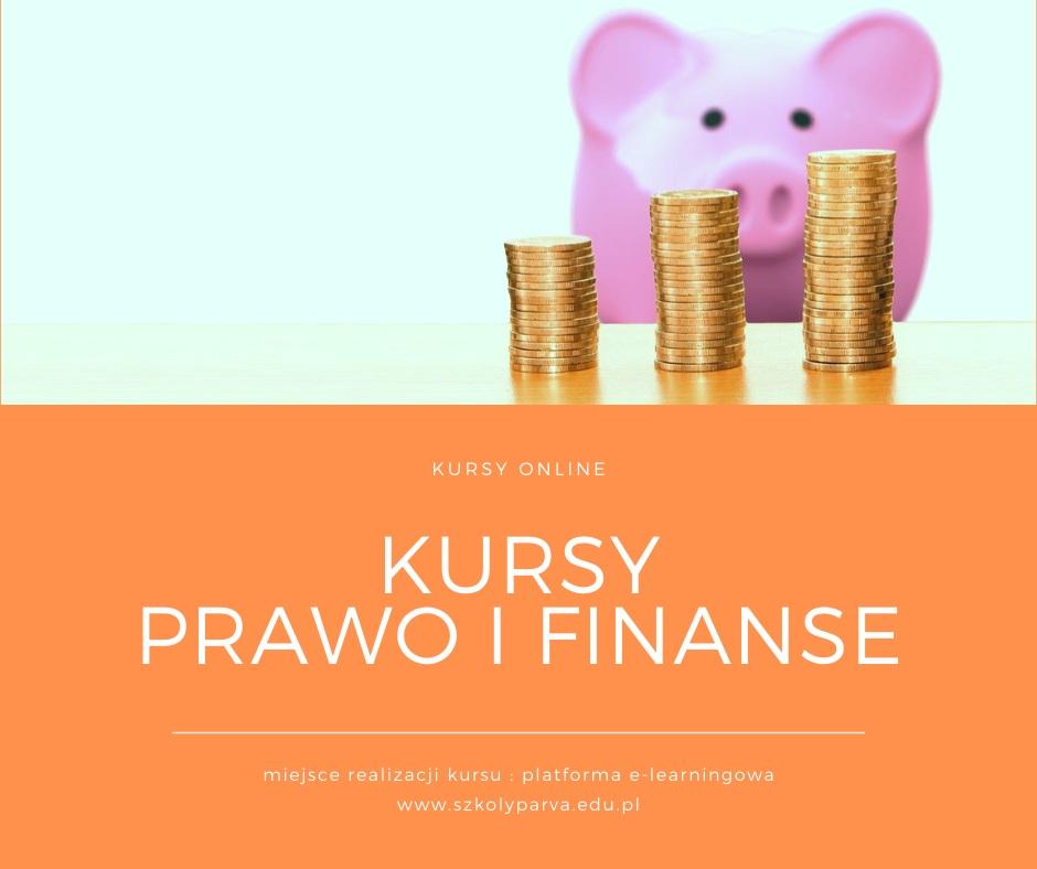 Kursy PRAWO I FINANSE