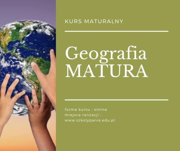 Geografia MATURA - Geografia MATURA