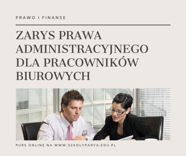 ZARYS PRAWA ADM PRACOW BIUR 600x503 - Zarys prawa administracyjnego dla pracowników biurowych