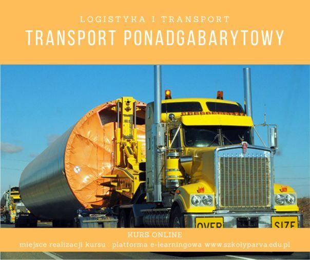 Transport ponadgabarytowy - Transport ponadgabarytowy
