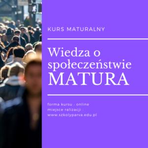 Wiedza o społeczeństwie MATURA 300x300 - Wiedza o społeczeństwie MATURA
